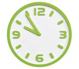 toya zegar ścienny 30cm z cyframi 3d jasnozielony tg-68404
