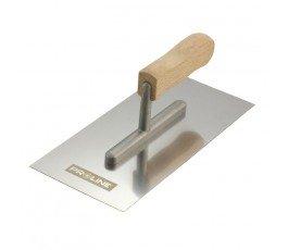 proline paca tynkarska gładka nierdzewna 380x130mm rączka drewniana 61536