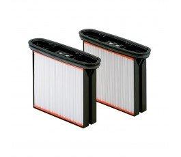 """metabo zestaw 2 poliestrowych filtrów kasetowych klasa pyłów """"m"""" 631934000"""
