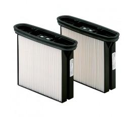 metabo zestaw 2 poliestrowych filtrów kasetowych hepa klasa pyłów h 630326000