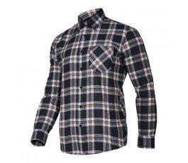 "lahtipro koszula flanelowa w kratę rozmiar ""l"" lpkf2l"
