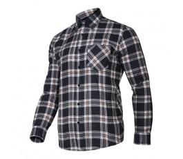 """lahtipro koszula flanelowa w kratę rozmiar """"xxl"""" lpkf22xl"""