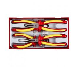 teng tools zestaw 4 szczypiec izolowanych 1000v 117490102
