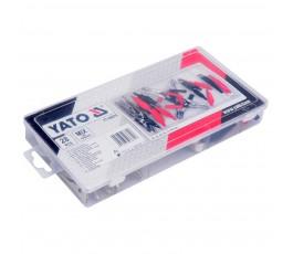 yato zestaw 28 krokodylków elektrycznych yt-06870