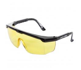 "lahtipro okulary ochronne żółte regulowane ""f"" l1500800"