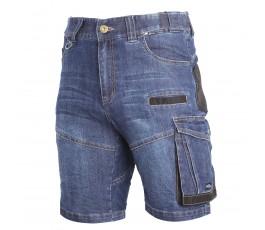"""lahtipro spodenki jeansowe niebieskie krótkie wzmocnione slim rozmiar """"l"""" l4070703"""