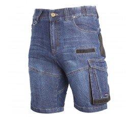 """lahtipro spodenki jeansowe niebieskie krótkie wzmocnione slim rozmiar """"xxxl"""" l4070706"""