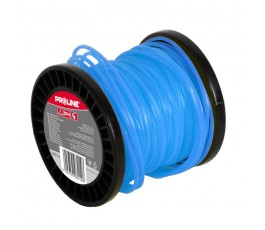 proline żyłka tnąca (szpula) skręcona kwadratowa 2.4mmx90m niebieska 98244