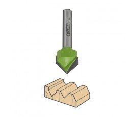luna frez 2-ostrzowy do drewna stożkowy 16mm 210140208