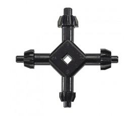 wolfcraft uniwersalny kluczyk wiertarski 4-5.5-6-7mm wf2635000