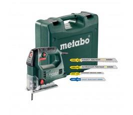 metabo wyrzynarka steb 65 quick set 450w + 20 brzeszczotów + walizka 690920000