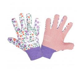 """lahtipro rękawice ochronne nakrapiane rozmiar """"8"""" l240508k"""