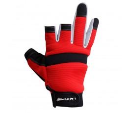 """lahtipro rękawice ochronne bez 3 palców z poduszką ochronną rozmiar """"9 (l)"""" l281209k"""