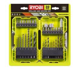 ryobi zestaw power pack xxx (13 bitów + 16 wierteł + 2 nasadek + uchwytu) 5132004425