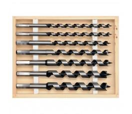 proline zestaw 7 świdrów do drewna (6-18mm) 230mm 26847