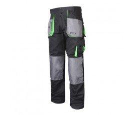 """lahtipro spodnie ochronne czarno-zielone rozmiar """"xl"""" l4050656"""