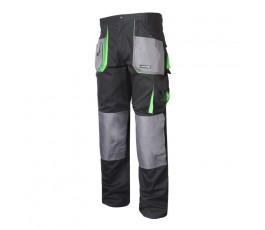 """lahtipro spodnie ochronne czarno-zielone rozmiar """"2l"""" l4050654"""