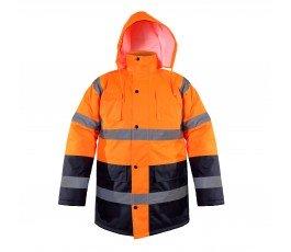 kurtka ostrzegawcza ocieplana pomarańczowa xxxl ce lahti