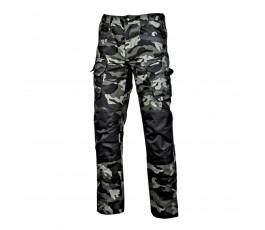 """lahtipro spodnie bojówki moro zielone ze wzmocnieniami rozmiar """"m"""" l4051902"""