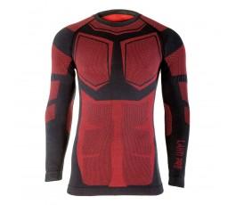 """lahtipro koszulka termoaktywna czarno-czerwona rozmiar """"s/m"""" l4120501"""