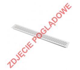 gtv kratka wentylacyjna (mała) 60x484mm biała kk-w60800-m1-m