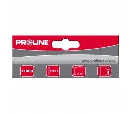 proline zestaw 1000 gwoździ typu f 50mm 2x1.26mm 55750