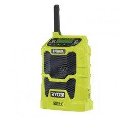 ryobi kompaktowy radioodbiornik z technologią bluetooth 18v 5133002455