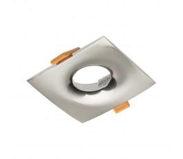 gtv sufitowa oprawa punktowa alessio kwadratowa inox/satyna op-alskw-52