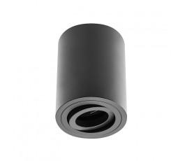 gtv oprawa sufitowa sensa aluminiowa 85x115mm max 50w okrągła czarna os-sen5087okcz-00
