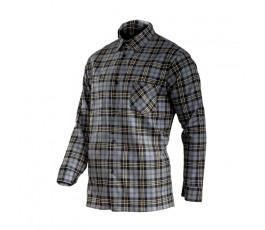 "lahtipro koszula flanelowa szara rozmiar ""l"" l4181003"