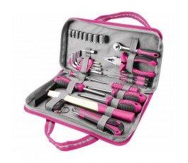 """extol zestaw narzędzi """"lady"""" w torbie (39 elementów) 6595"""