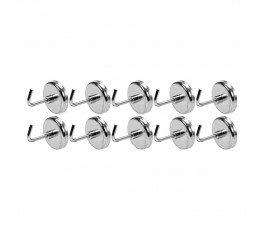 yato zestaw 10 haczyków magnetycznych yt-08690