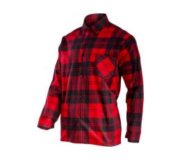 """lahtipro koszula flanelowa czerwona rozmiar """"l"""" l4180903"""