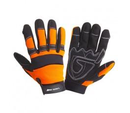 """lahtipro rękawice warsztowe czarno-pomarańczowe rozmiar """"xl"""" (10) l280510k"""