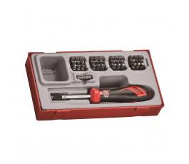 teng tools wkrętak dynamometryczny ttsd38 + zestaw grotów 282640101