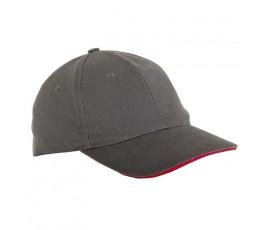 lahtipro czapka z daszkiem szara l1814300