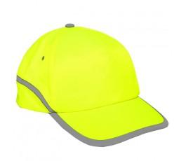 lahtipro czapka z daszkiem żółta l1010200