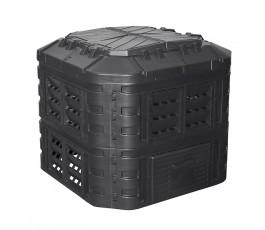 patrol kompostownik czarny 600l kompost600czapg003