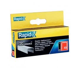 rapid zestaw 2500 zszywek high performance 53/12 galwanizowanych 11859625