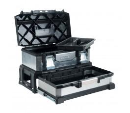 stanley skrzynka narzędziowa metalowa z szufladą 958301