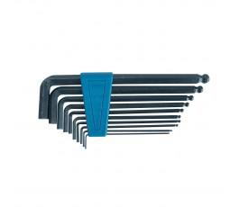 mega zestaw 10 kluczy imbusowych z kulką 1.5-10mm 48210