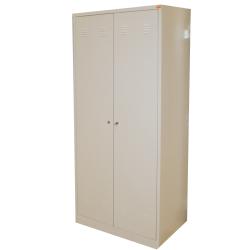 szafa ubraniowo-półkowa  bhp 2-drzwiowa  800/2