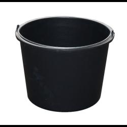 jarmex wiadro budowlane 15l czarne 15l/5097