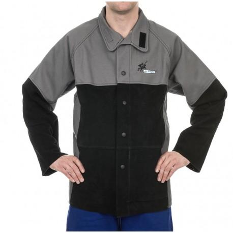 WELDAS trudnopalna kurtka spawalnicza rozmiar XL
