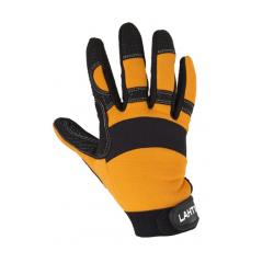 rękawice warsztatowe rozmiar 9 czarno-pomarańczowe