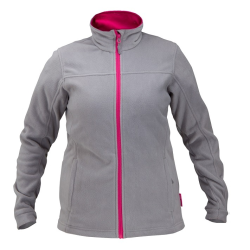 "bluza polarowa szaro-różowa damska ""s"" lahtipro"