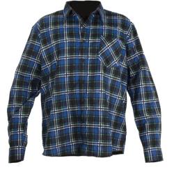 koszula flanelowa niebieska rozmiar 2xl, lahtipro