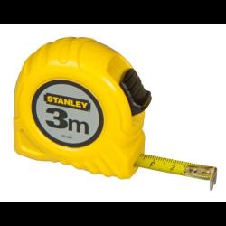 miara budowlana 3m/13mm w obudowie plastikowej stanley