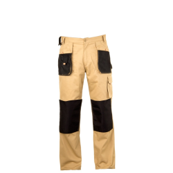 """lahtipro spodnie ochronne beżowe 100% bawełna rozmiar """"m"""" l4050150"""