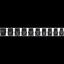 """yato zestaw 10 nasadek udarowych krótkich 1/4"""" yt-1025"""